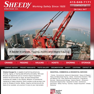 Sheedy website